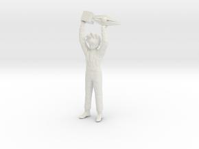 1/10 15th CF Winner Kazami Hayato in White Natural Versatile Plastic