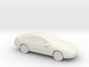 1/87 2000-04 Chrysler Sebring Coupe in White Natural Versatile Plastic