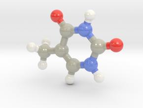 Thymine (T) in Glossy Full Color Sandstone