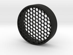 KillFlash HoneyComb 63,85mm + Ribs in Black Natural Versatile Plastic