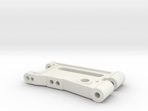 Arm1 in White Natural Versatile Plastic