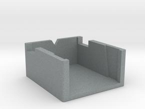 Dual Turntable Cartridge Alignment Gauge in Polished Metallic Plastic