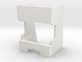 Dual 1019 Turntable Alignment Overhang Gauge  in White Natural Versatile Plastic
