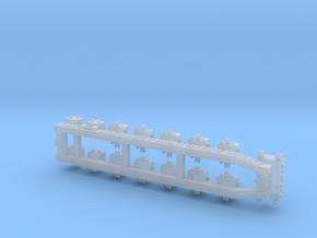 1/35 AN/VIC-3(V) Intercom basic set MSP35-001 in Smooth Fine Detail Plastic