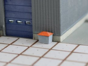 N Scale Grit Box DB 4pc in Frosted Ultra Detail