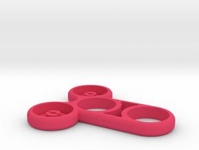 Meatspin Fidget Spinner (The Meatspinner) in Pink Processed Versatile Plastic