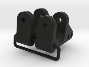 045026-00 Uprights for Ampro Front Ends in Black Natural Versatile Plastic