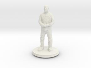 Printle C Homme 415 - 1/87 in White Natural Versatile Plastic