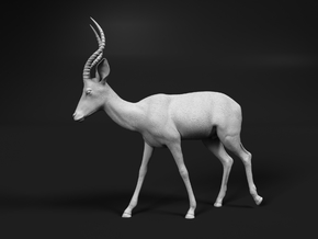 Impala 1:12 Walking Male in White Natural Versatile Plastic