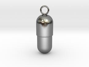 Prescription Pendant (S) in Polished Silver