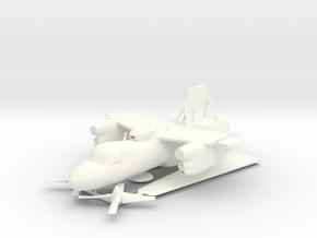 E-2C Hawkeye V13 3D Print Set 1 in White Processed Versatile Plastic