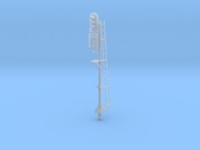 NS Cijferbaksein (1x Rechts) in Smooth Fine Detail Plastic