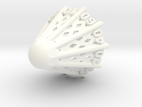 Badminton D00 in White Processed Versatile Plastic