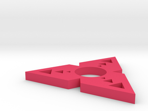 Trispin22 in Pink Processed Versatile Plastic