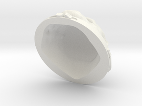 Iakaru 1:6 scale Ver 2 - updated model in White Natural Versatile Plastic