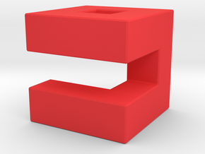Almost 9gag's logo in Red Strong & Flexible Polished