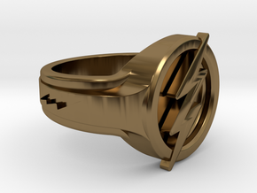 The Flash Ring in Polished Bronze: 8 / 56.75