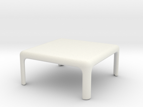 Demetrio 45 Table x1 (Space: 1999), 1/30 in White Strong & Flexible
