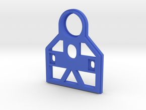 Rotastage Base in Blue Processed Versatile Plastic
