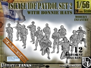 1-56 IDF BONNIE PATROL SET 2 in Smooth Fine Detail Plastic