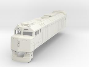 F40 Via Rail H0 in White Natural Versatile Plastic
