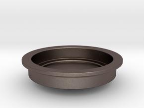 Devopress Aeropress Small Cup Adaptor in Polished Bronzed Silver Steel