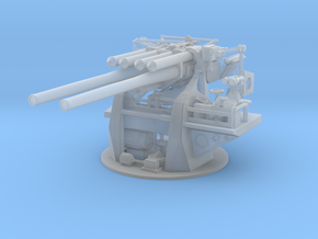 "1/48 IJN 12.7 cm/40 (5"") Type 89 Naval Gun in Smooth Fine Detail Plastic"