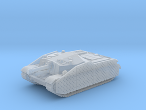 43M Zrinyi tank (Hungary) 1/144 in Smooth Fine Detail Plastic