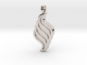 Jewelled Seas Untold Pendant in Rhodium Plated Brass