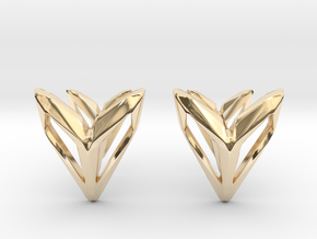 Phantom, Cufflinks. Space Chic in 14k Gold Plated Brass