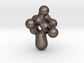 Camphor Molecule Pendant in Stainless Steel