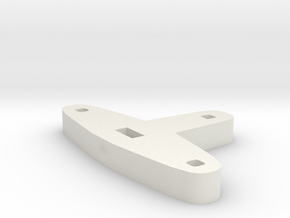 Tiller for Flap Rudder V03 1:87 in White Natural Versatile Plastic