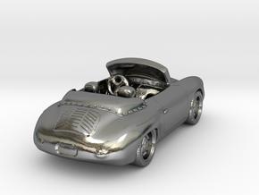 Porsche 356    1:120   TT in Polished Silver