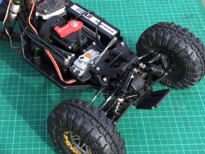 Twin Hammers Steering and Suspension Upgrade in Black Strong & Flexible