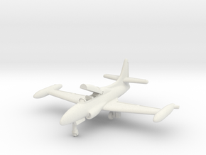 Lockheed T2V-1 Seastar (landing gear) 1/285 in White Natural Versatile Plastic