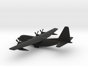 Lockheed C-130 Hercules in Black Strong & Flexible: 1:350