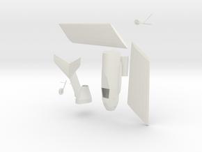 1:48 Ta-183 in White Natural Versatile Plastic