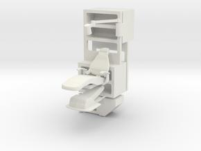 Medical Center Set B, Season 1 (Space: 1999), 1/30 in White Natural Versatile Plastic