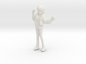 1/48 Race Queen Cheer Leader Asuka in White Strong & Flexible