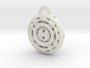 Time Orb in White Natural Versatile Plastic