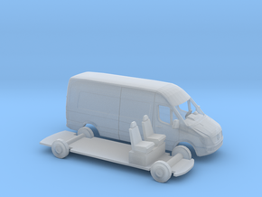 1/87 Mercedes Sprinter Kit in Smooth Fine Detail Plastic