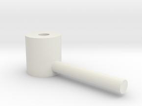 T-Bolt for Flap Blade 1:87 in White Natural Versatile Plastic