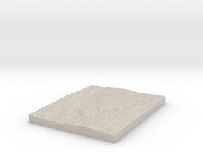 Model of Vadjungsed in Natural Sandstone