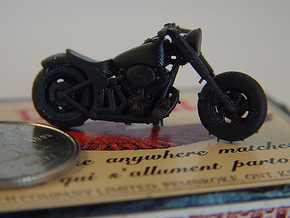Harley Davidson Solo  1:87  - HO in Smooth Fine Detail Plastic