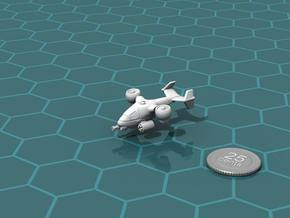 Terran Ground Attack VTOL in White Natural Versatile Plastic