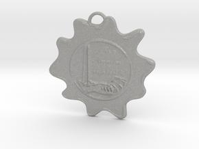 McScath Family Crest in Aluminum: Large
