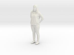 Printle C Femme 364 - 1/87 - wob in White Natural Versatile Plastic