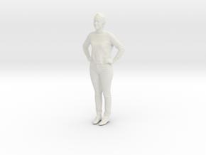 Printle C Femme 390 - 1/87 - wob in White Natural Versatile Plastic