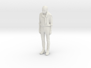 Printle C Homme 798 - 1/24 - wob in White Natural Versatile Plastic