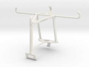 Controller mount for Xbox One S & alcatel Pop 4+ - in White Natural Versatile Plastic